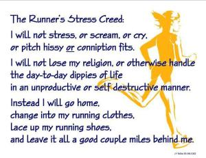 Runners Stress Creed